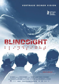 Cartel del documental Blindsight (A ciegas)