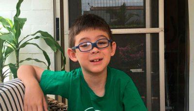 Imagen de Federico, el niño autor del cuento