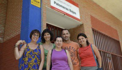 Imagen de algunos profesores del Centro Palomeras