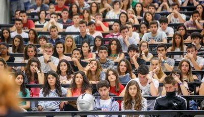 Imagen de una clase universitaria