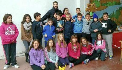 Imagen de la clase de Guillén