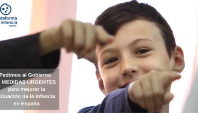Imagen de la petición de Plataforma de Infancia