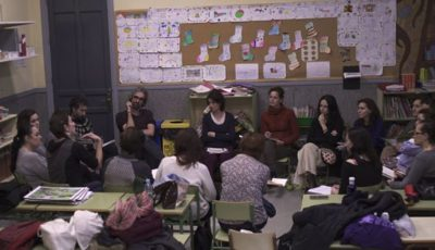 Imagen de un grupo de personas coordinando el proyecto