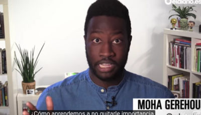 Fotograma del vídeo de Moha