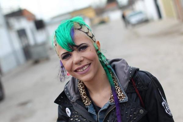 Imagen de la joven Tania