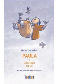Portada del cuento Paula y la levedad del ser
