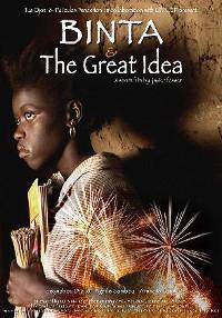 Cartel del documental Binta y la gran idea