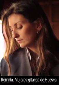 Cartel del documental Mujeres gitanas de Huesca