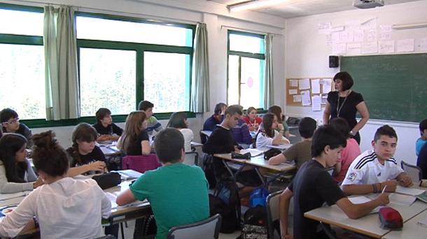 imagen de un colegio vasco