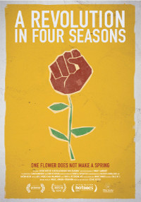 Cartel del documental A revolution in Four Seasons