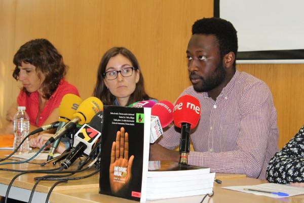 Imagen del presidente de SOS Racismo