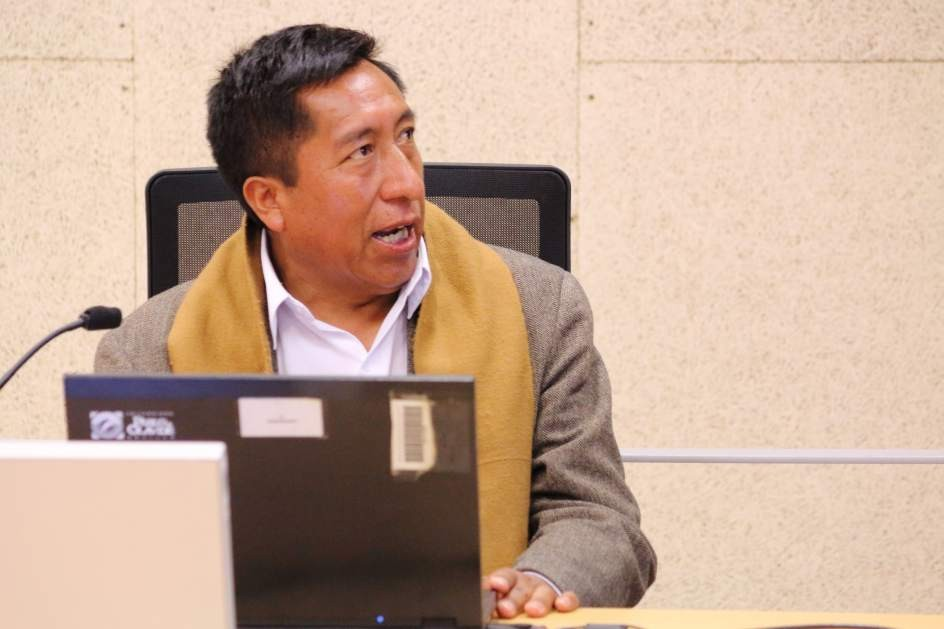 Imagen del profesor aymara