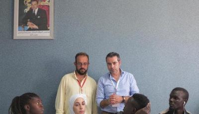 Imagen de los participantes en el taller