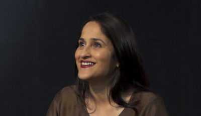 Imagen de Kiran Bir Sethi durante el programa