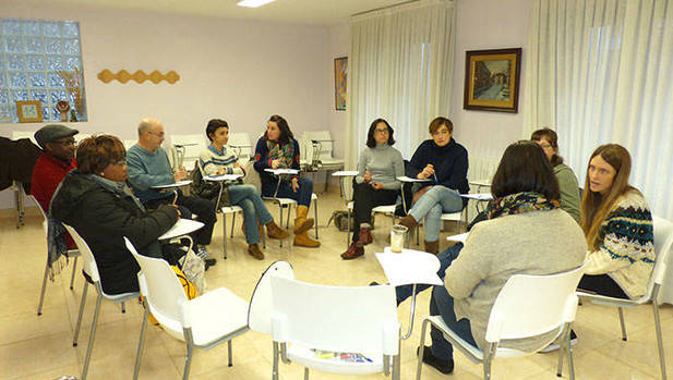 imagen del grupo intercultural de Balmaseda