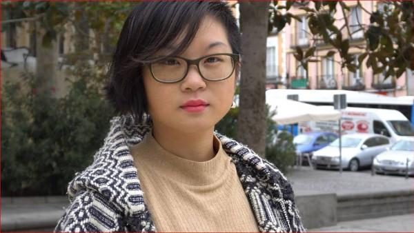 mujer china madrileña