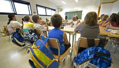 Imagen de una clase de primaria