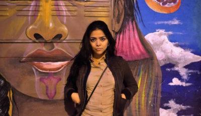 La colombiana Lina Larrea