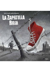Portada del cuento La zapatilla roja width=
