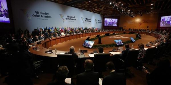 Imagen de una de las asambleas de la Cumbre