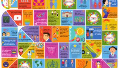 Imagen del tablero del Juego Somos Diversidad