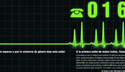 anuncio del 061, teléfono contra la violencia