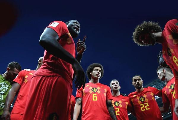 jugadores de la selección de fútbol belga