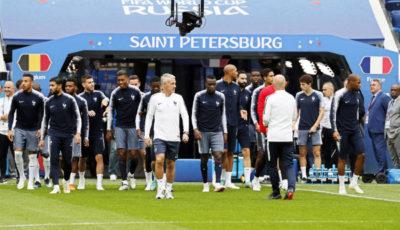 imagen de la Selección francesa en San Petesburgo