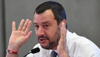 Imagen del Ministro del Interior italiano, Matteo Salvini