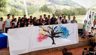 Imagen de un grupo de alumnos de una escuela