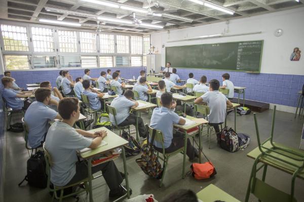 clase del Colegio Altair, de educación concertada