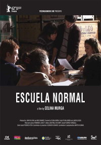 Cartel del documental Escuela Normal