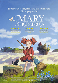 Cartel de la película Mary y la flor de la bruja