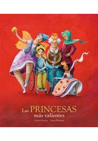 Portada del libro las princesas más valientes