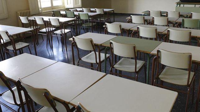 imagen de una clase vacía