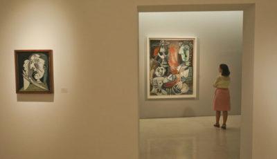 Imagen de una de las salas del Museo Picasso