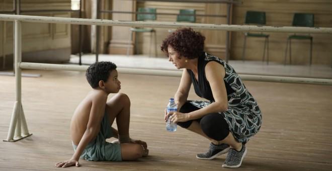 Imagen del rodaje de la película Yuli