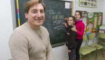 Imagen de Antonio García, mejor docente 2018