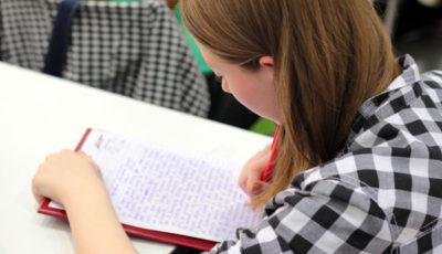 imagen de una joven estudiante