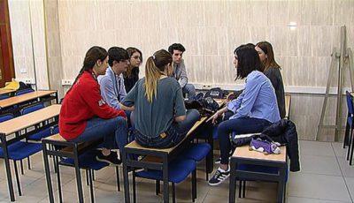 fotograma del vídeo grabado por estudiantes