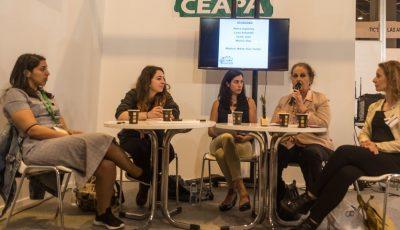 Imagen de la mesa de CEAPA en Aula 19