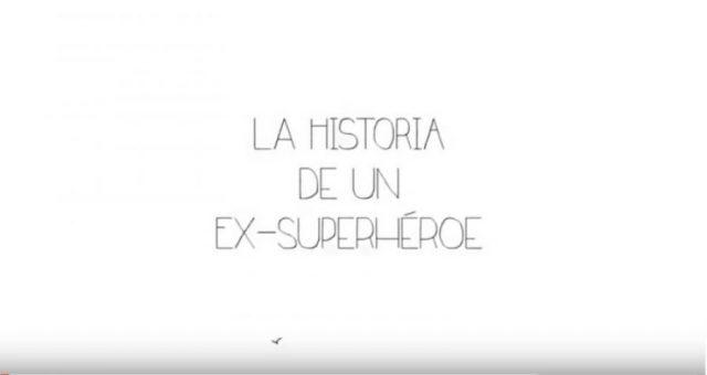 Fotograma del videocomic en el que aparece el título