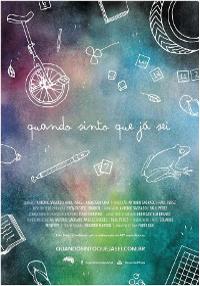 Cartel del documental Cuando siento que ya sé