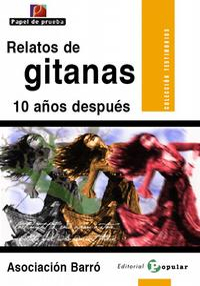Portada del libro Relatos de Gitanas