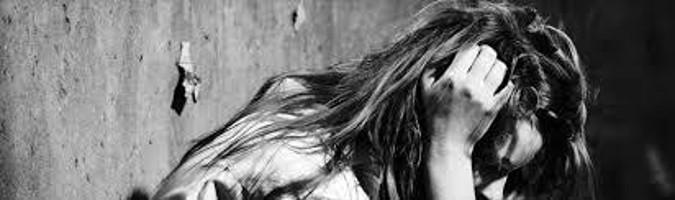 imagen de una joven borrosa