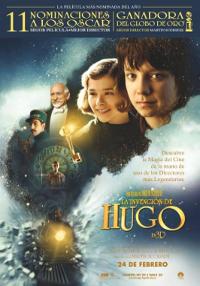 Cartel de la película La invención de Hugo