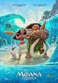 Cartel de la película Moana