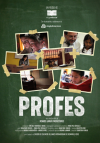 Cartel del documental Profes