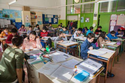 Imagen de una escuela navarra