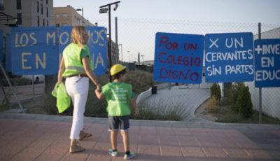 Imagen del Colegio Cervantes de Getafe